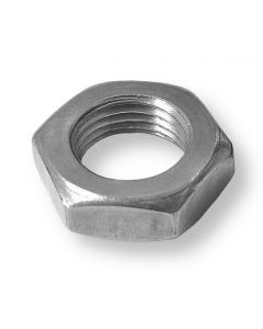 M8  Hexagon  Lock  ( Half )  Nuts  Stainless Steel A2(304)  DIN 439
