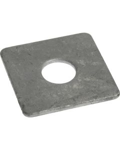 M12  x 40mm  x   5mm   Square Plate Washers  Galvanised  DIN 436