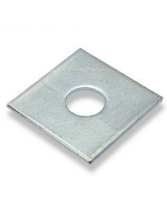 M8  x 40mm  x   3mm   Square Plate Washers  Zinc  DIN 436