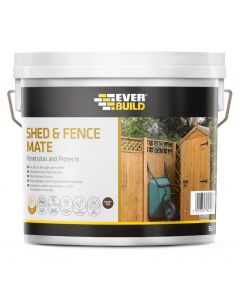 SHED & FENCE 5 LITRE RUSTIC RED