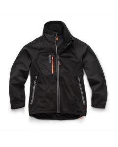 Scruffs Trade Flex Softshell Jacket Black – Size XL