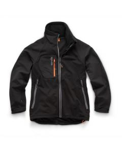 Scruffs Trade Flex Softshell Jacket Black – Size M