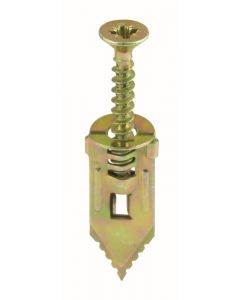 TIMco Hammer-In Fixings - 4 x 30mm - Yellow