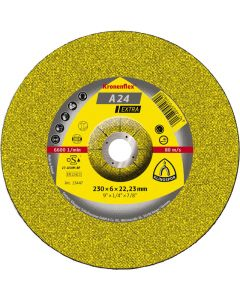 KLINGSPOR 230MM X 6MM X 22.23MM A 24 KRONENFLEX GRINDING DISCS