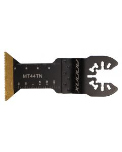 Addax 44mm Flush-Cut Multi-Tool Blade - Titanium Coated for Wood/Metal with Universal Fitting