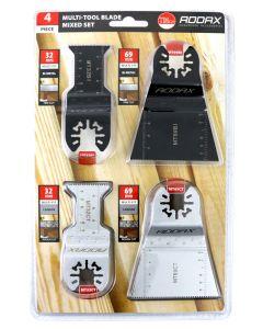 Addax Multi-Tool Sets - 4 Piece Set