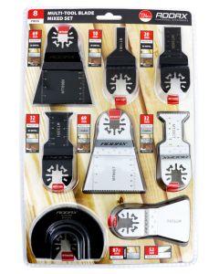 Addax Multi-Tool Sets - 8 Piece Set