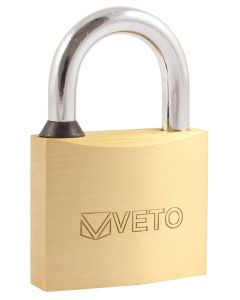 Veto Brass Padlock - 60mm
