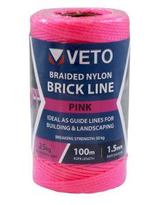 Veto Nylon Brick Line - 1.5m x 100m