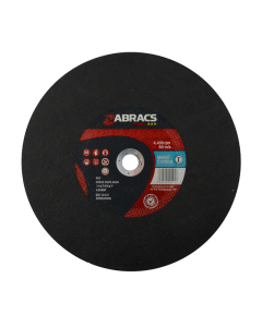 Abracs Proflex 350mm x 2.8mm x 25mm Flat Metal Cutting Disc / Chop Saw Blade
