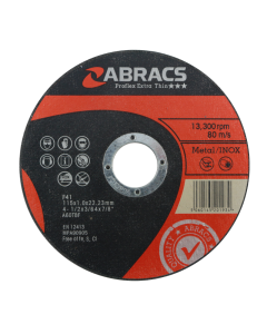 FES Abracs Proflex Extra Thin Cutting Disc 115mm x 1.0mm INOX