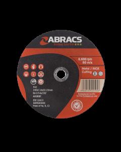 Abracs Proflex Extra Thin Cutting Disc 230mm x 1.8mm INOX