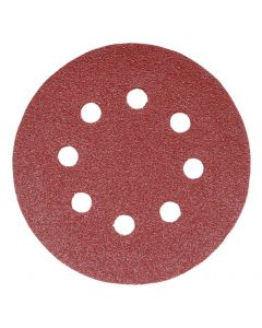 Addax Random Orbital Sanding Discs - 125mm - 60 Grit - Coarse - Pack Of 5
