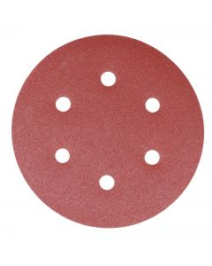 Addax Random Orbital Sanding Discs - 150mm - 80 Grit - Medium - Pack Of 5