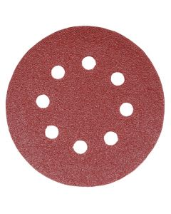 Addax Random Orbital Sanding Discs - 150mm - 60 Grit - Coarse - Pack Of 5