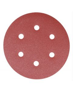 Addax Random Orbital Sanding Discs - 150mm - 120 Grit - Fine - Pack Of 5