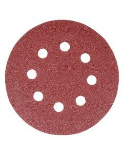 Addax Random Orbital Sanding Discs - 125mm - 120 Grit - Fine - Pack Of 5