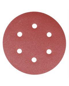 Addax Random Orbital Sanding Discs - 150mm - 180 Grit - Extra Fine - Pack Of 5