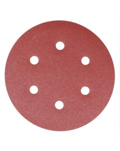 Addax Random Orbital Sanding Discs - 150mm - 80/120/180 Grit - Assorted - Pack Of 5