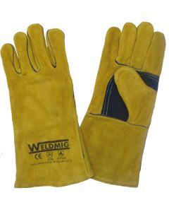 WeldMig Gold Kevlar MIG Gloves Size 10
