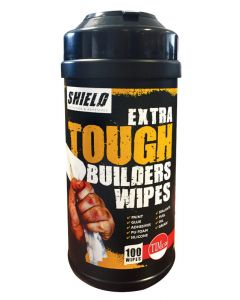 Shield Extra Tough Builders Wipes - 100 Wipes
