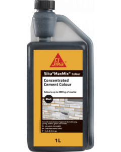 EVERBUILD SIKA MAXMIX CONCENTRATED CEMENT COLOUR - BLACK