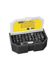 STANLEY Bit Set & Holder, 31 Piece STA113903