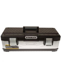 STANLEY Galvanised Metal Toolbox 66cm (26in) STA195620