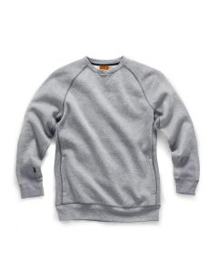 Scruffs Trade Sweatshirt Grey Marl L