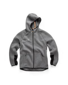 SCRUFFS TRADE AIR-LAYER HOODIE CHARCOAL S