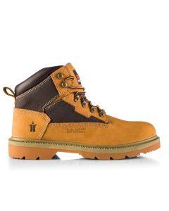 Scruffs Twister Nubuck Tan Safety Boot Size 9/43