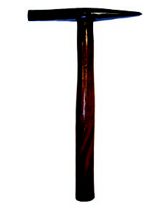 Wooden Handled Chipping Hammer