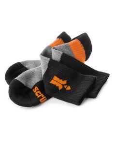 Scruffs Trade Socks 3 pack Sz 7-9.5