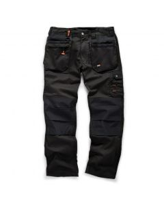 "Scruffs Worker Trouser 2019 Black 32""R"