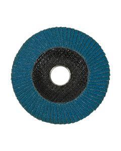 TimCo Zirconium Flap Disc 115mm - Type 29 Conical - P60 Grit