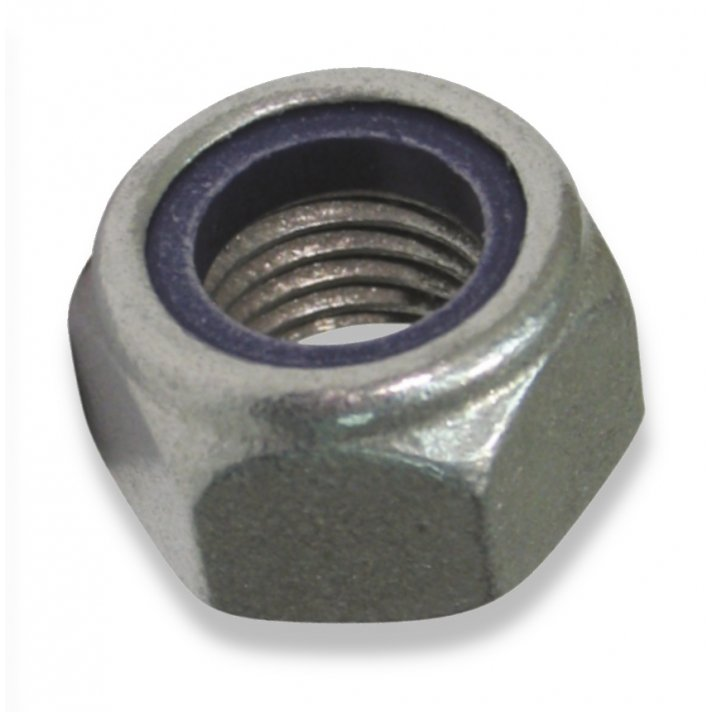 Din 982 Type T  Gr 8 Galvanised Nyloc Nut