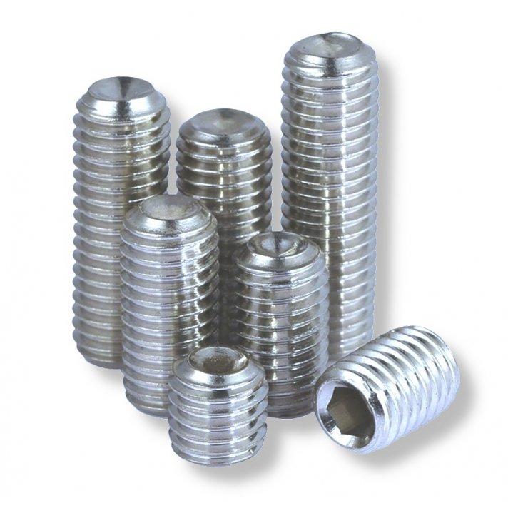 Socket Set (grubb)  Screws Din 916   Zinc
