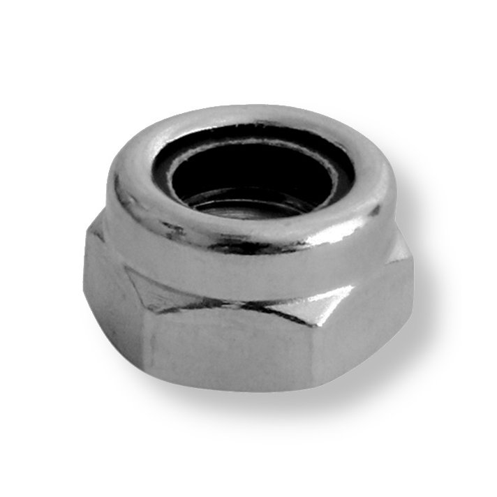 A2  (304)   Stainless Nyloc Nuts Din985